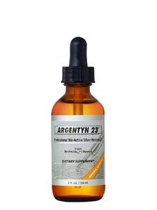 Argentyn 23 Professional Bioactive Silver Hydrosol 23 PPM Dropper, 2 Ounce