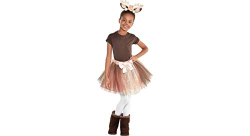 Deer Halloween Costume Accessory Kit for Girls, One Size, 2 Pieces, by Amscan