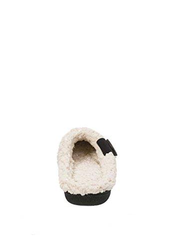 Nuovo Arrivo 2017 Donna Pantofole-memory Foam In Microfibra Scamosciato Zoccoli Neri