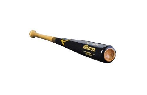 Mizuno MZB243 Classic Bamboo Wood Baseball Bat, Black/Gold, 31-Inch (Baseball Bamboo Classic Bat)