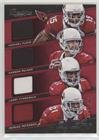 #4: Carson Palmer; Larry Fitzgerald; Michael Floyd; Patrick Peterson #33/49 (Football Card) 2014 Panini Prestige - Big Four Jerseys #4