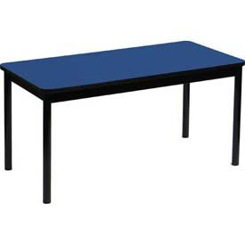 Correll LR3672-37 High Pressure Library Table, 36 x 72 x 29 in. - Blue