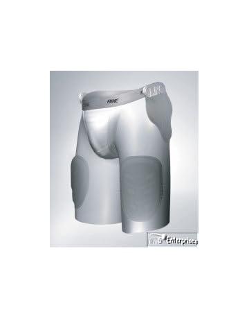 ae7ce57b972 3 pr Bike football 5 pad pocket compression boxer shorts girdle NEW BAGR75 M