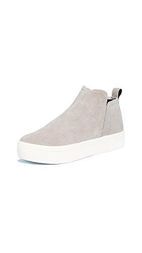 Dolce Vita Women's Tate Sneaker, Smoke Suede, 7.5 Medium US