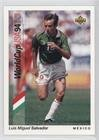 Luis Miguel Salvador (Trading Card) 1993 Upper Deck World Cup 94 Preview English/Spanish - [Base] #46