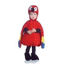 [Belly Babies Parrot Costume - Medium] (Parrot Infant Costumes)