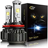 Cougar Motor LED Headlight Bulbs All-in-One Conversion Kit - H11 (H8, H9) -7,200Lm