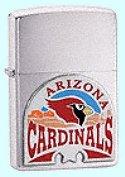 Zippo Cardinals- Brushed Chrome #20254