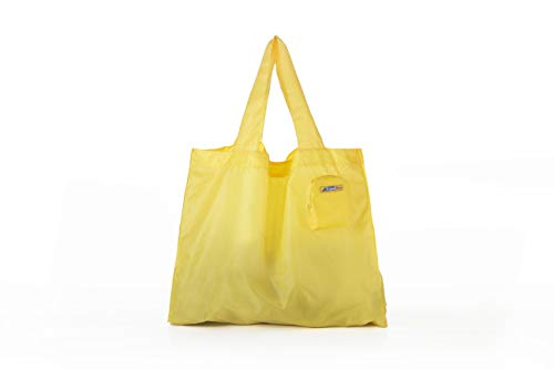 Cheap Travel Blue  Spacious Foldable Mini Bag, Yellow, One Size