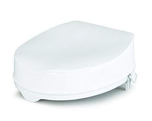 (Homecraft Savanah Raised Toilet Seat with Lid, 6