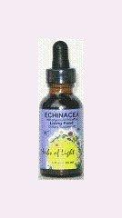 Echinacea hierbas de luz 1 onza líquido