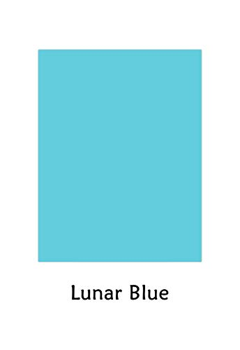 Premium Color Card Stock Paper | 50 Per Pack | Superior Thick 65-lb Cardstock, Perfect for School Supplies, Holiday Crafting, Arts and Crafts | Acid & Lignin Free | Lunar Blue | 8.5 x 11