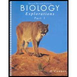 Biology Explorations Part I, O'Connor, Linda, 0757501761
