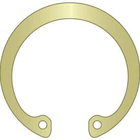 Stamped HO-062-ZD Pkg of 295 Zinc Yellow USA Spring Steel 5//8 Internal Housing Ring