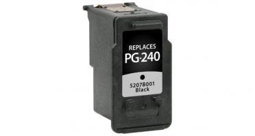 Canon PG-240 Ink Black, 5207B001 (PG-240) - Reman