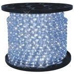 Rope Lights 39.4 Feet Cool White LED Round 3/8 inch Diameter - 110 Volts