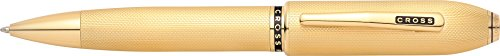 Cross Peerless 125 23kt Heavy Gold Plate Ballpoint Pen - AT0702-4 ()