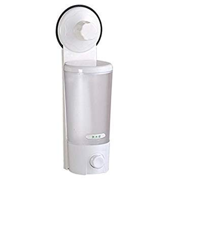 4tens Wall Mounted Single Suction Cup Liquid Soap Dispenser (White, Medium) (B07L78XNGG) Amazon Price History, Amazon Price Tracker