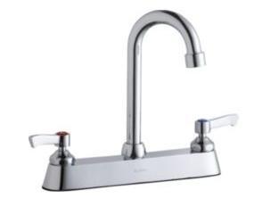 (Elkay LK810GN05L2 Commercial Faucet, Food Service, 8