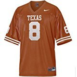 NIKE Texas Longhorns Youth #8 Football Jersey - Jerseys Nike Texas