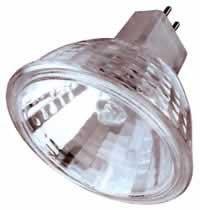 Bulbrite 646320 - 20PK - 20W - MR16 - Lensed - GU5.3 Base - 24V - 2850K - 2,000Hrs - Flood - Dimmable - Clear - Halogen