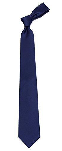 Solid Color Boy's Regular Necktie Tie by Buy Your Ties