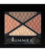 Rimmel London Glam'Eyes Quad Eye Shadow - 002 Smokey Brun