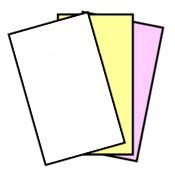 167 Sets NCR Paper, 3 Part, Legal Size Straight Collated Carbonless Paper (501 Sheets - 3 Part) by NCR