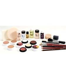[Ben Nye Theatrical Pro Makeup Kits Olive: Light-Medium] (Special Effects Makeup Kit)