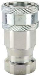 PARKER 6601-6-6 STEEL 4000PSI 3/8IN. HYDRAULIC HOSE COUPLER BODY ()