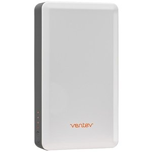 Ventev Powercell 6000 Portable Battery | Power Bank with Two USB Ports | 6000 mAh, Rapid Charge | Ultra Compact External Battery Pack for Smartphone, Tablet, Headset ()