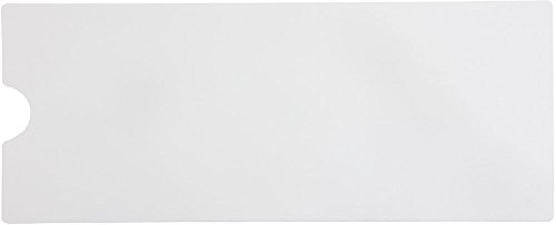 White Non Slip Bath Mat for Tub and Shower, Mildew Resistant, Non-Toxic, Adhesive Backed (Set of six 16