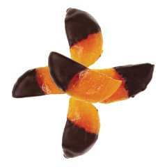 Dried Hand Cut Apricots Dipped in Dark Chocolate Economy Package 1lb