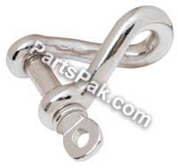 TWISTED SHACKLE Stainless Steel 1/2 IN ()
