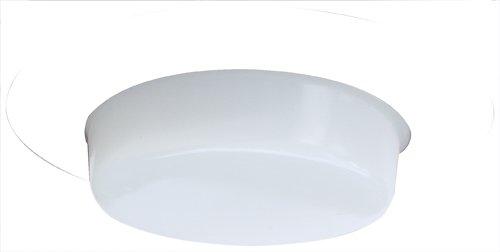 "- Elco Lighting EL516W 5"" Shower Trim with Drop Opal Lens - EL516 (CFL)"