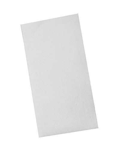 Linen Feel Guest Disposable Cloth Like Napkins - Soft,Absorbent Paper Hand Towels 8
