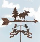 Moose Roof Mount Weathervane - Weathervane Moose Wildlife