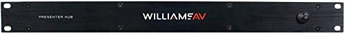Williams Sound VP S1 Video Presenter HUB; Supports AirPlay, ChromeCast and Miracast Wireless Casting Devices; iOS and Android Control, Annotation and Streaming App (Best Annotation App For Android)