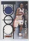 07 Topps Full Court (Chauncey Billups #13/199 (Basketball Card) 2006-07 Topps Full Court - Full Court Press - Dual Relic #FCP19)