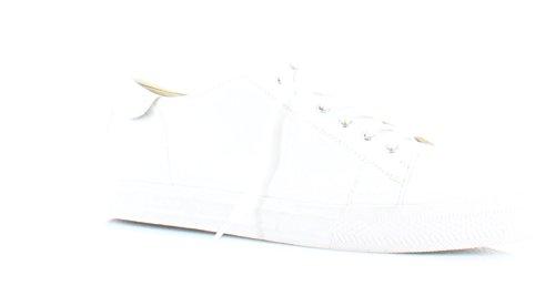 Nine West Kvinners Patrick Skinn Mote Sneaker Hvitt Skinn