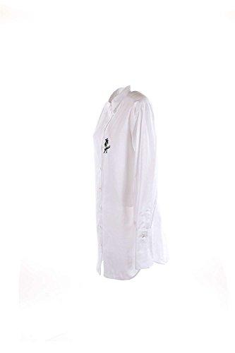 Camicia Donna Pinko 44 Bianco Marabu Autunno Inverno 2016/17