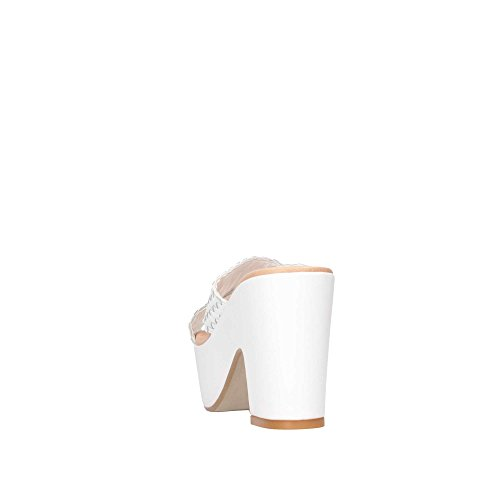 Blanc I1502f4s Sandales Bianco David Femme Haron wOq5xZxX