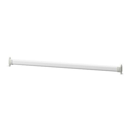 Ikea STUVA GRUNDLIG - Clothes rail, white