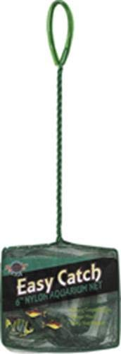 Blue Ribbon Pet Products ABLEC6C Easy Catch Fish Net for Aquarium, 6-Inch, Coarse Green ()