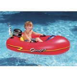 Solstice by International Leisure Products Speedboat Inflatable Ride-On Kiddie 1 Red