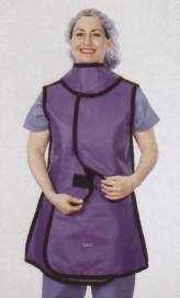 DeRoyal X-Ray Apron Over the Shoulder