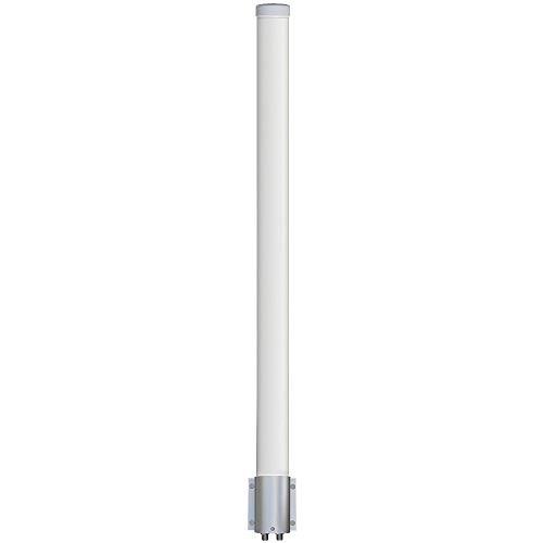 (Altelix 2.4 GHz 12 dBi WiFi 2 Port MIMO Omni Antenna for Ubiquiti RocketM2, MikroTik BaseBox2 & Cambium)