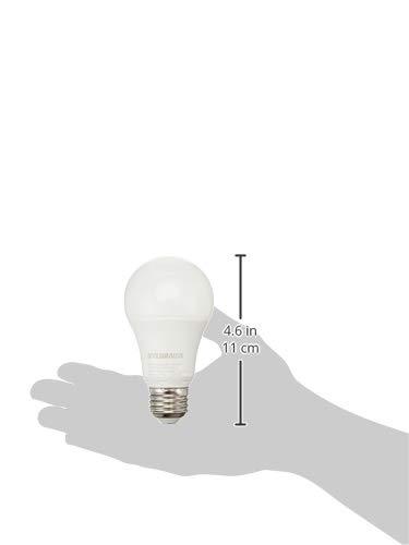 Efficient 12W Bright White 3500K LED Light Bulb 1 Pack A19 Lamp Sylvania 71190 75W Equivalent