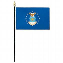 - Air Force Miniature Flag (4 in. x 6 in.)