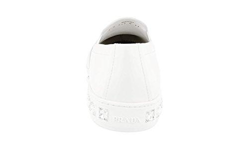 ... Prada Kvinner 1s245g 070 F0009 Skinn Sneaker ...